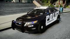Ford Taurus Police Interceptor 2011 [ELS] для GTA 4