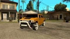 Hummer H2 4x4 diesel для GTA San Andreas