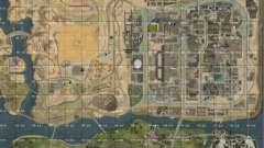 Карта San-Andreas с секторами Update v7