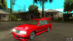 Volvo 945 Wentworth R with bodykit (1.2) для GTA San Andreas