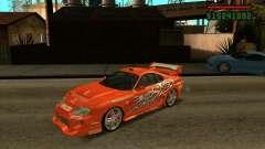 Toyota Supra MK4 tunable для GTA San Andreas