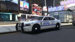 Dodge Charger NYPD для GTA 4