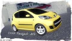 Peugeot 107 2011 для GTA San Andreas