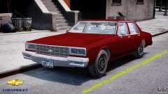 Chevrolet Impala 1983 v2.0
