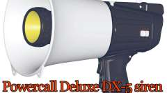 Сирена Powercall Deluxe DX-5