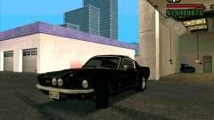 Shelby Mustang GT500 1967 для GTA San Andreas
