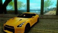 Nissan GTR Egoist 2011 для GTA San Andreas