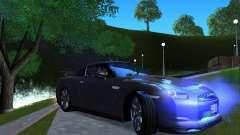 Nissan GTR R35 для GTA San Andreas