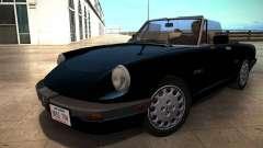 Alfa Romeo Spider 115 1986 для GTA San Andreas