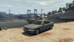 BMW 740i E38 для GTA 4