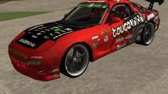 Mazda RX-7 drift king для GTA San Andreas