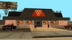 Новая пиццерия в IdelWood для GTA San Andreas
