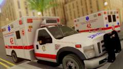 Ford F350 Super Duty Chicago Fire Department EMS для GTA San Andreas