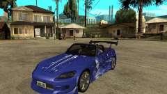 Honda S 2000 для GTA San Andreas