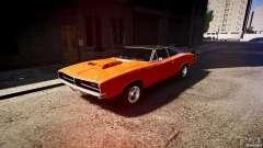 Dodge Charger RT 1969 tun v1.1 настройка спортивной езды для GTA 4