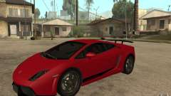 Lamborghini Gallardo LP 570 4 Superleggera для GTA San Andreas