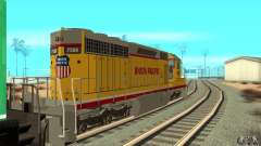 Локомотив SD 40 Union Pacific