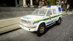 Nissan Frontier Essex Police Unit