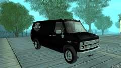 Chevrolet Van G20 1986 v2.0 для GTA San Andreas