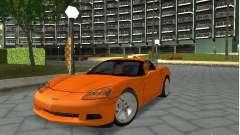 Chevrolet Corvette (C6) для GTA San Andreas