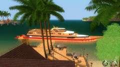 Яхта Кортеза из Vice City