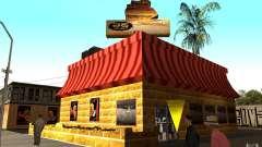 Кафе Ростикс для GTA San Andreas