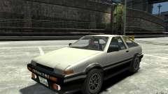 Toyota Sprinter Trueno AE86 для GTA 4