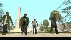 Family Skins Pack для GTA San Andreas