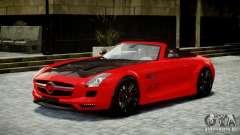 Mercedes-Benz SLS Roadster 2012 HAMANN HAWK AMG EPM для GTA 4