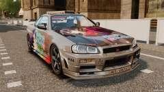Nissan Skyline GT-R NISMO S-tune для GTA 4