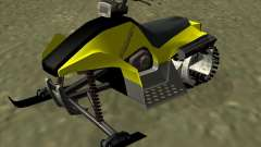 Snowmobile для GTA San Andreas