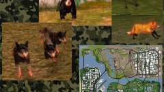 Wild Life Mod 0.1b Дикая Природа для GTA San Andreas