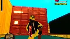 Skin бомжа v3 для GTA San Andreas