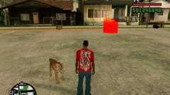 Тигр в GTA San Andreas