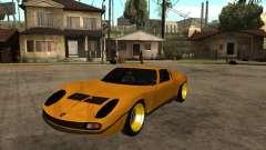 Lamborghini Miura для GTA San Andreas
