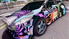 Ford Fiesta Gymkhana 6 для GTA San Andreas