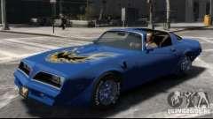 Pontiac Trans Am 1977 для GTA 4
