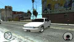 Chevrolet Caprice белый для GTA 4