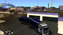 Iveco Stralis серебристый для GTA San Andreas
