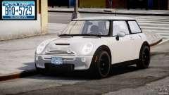 Mini Cooper S 2003 v1.2 для GTA 4