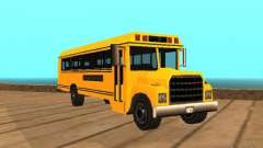 School bus для GTA San Andreas
