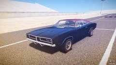 Dodge Charger RT 1969 v1.0 для GTA 4