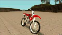 Honda CRF450R Extreme Edition FINAL для GTA San Andreas