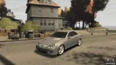 Mercedes-Benz CLK 63 AMG серебристый для GTA 4