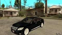 Lexus LS460L 2010 для GTA San Andreas