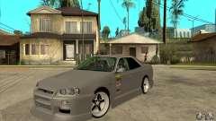 Nissan Skyline Er34 Street Drift для GTA San Andreas