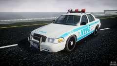Ford Crown Victoria 2003 v.2 Police для GTA 4