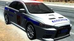 Mitsubishi Lancer Evolution X ППС Полиция