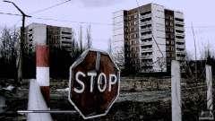 Загрузочные экраны Чернобыль для GTA San Andreas