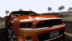 Ford Shelby Mustang GT500 2010